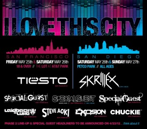 I Love This City Festival - San Francisco & San Diego