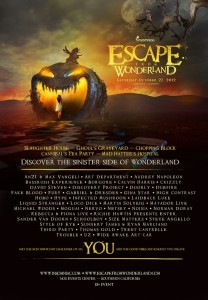 Escape from Wonderland 2012 Lineup