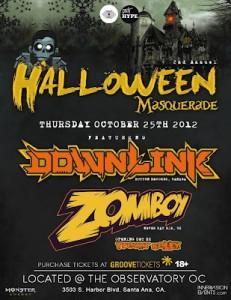 Zomboy + Downlink Halloween Masquerade