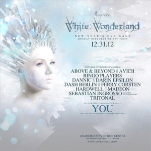 White Wonderland - December 31 (Anaheim Convention Center)