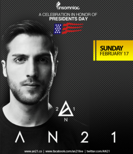 AN21 at Sutra - February 17