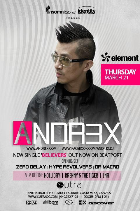 Andrex - Sutra - March 21