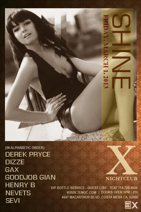 Dizze & Nevets at Ten Nightclub - March 1