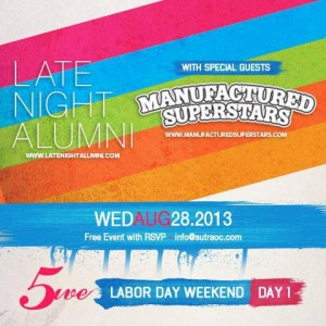 Sutra5 - Labor Day Weekend featuring Late Night Alumni, Manufactured Superstars, Mat Zo, Lil Jon, Helena, and Max Vangeli
