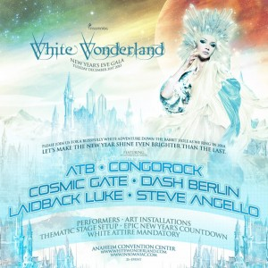 White Wonderland - December 31 (Anaheim Convention Center)