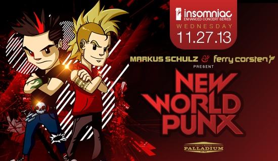 New World Punx - November 27 (Palladium, Hollywood)
