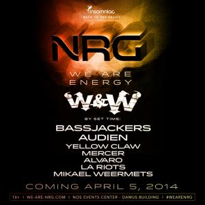 We Are NRG - April 5 (NOS Events Center, San Bernardino)