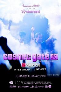 Cosmic Gate - February 27 (Sutra, Costa Mesa)