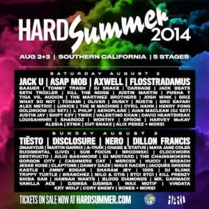 Hard Summer 2014 Lineup