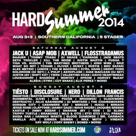 hard summer tickets for sale