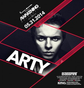 Arty - May 31 (Bassmnt, San Diego)