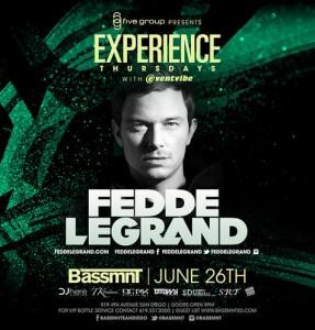 Fedde Le Grand - June 26 (Bassmnt, San Diego)