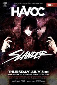 Slander - July 3 (Yost Theater, Santa Ana)a