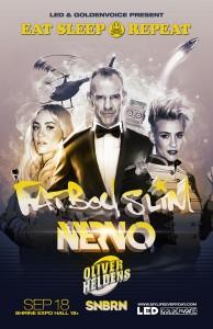 Fatboy Slim, Nervo, Oliver Heldens & SNBRN - September 18 (Shrine Expo Hall