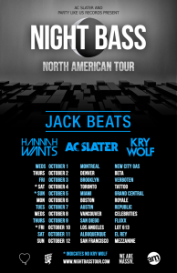 AC Slater + Jack Beats - October 9 & 10 (Los Angeles & San Diego)