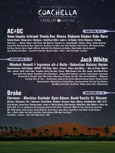2015 Coachella Festival -- April 10 - 12 & April 17 - 19 (Empire Polo Club, Indio)