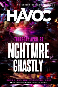 NGHTMRE + Ghastly - April 23 (Yost Theater, Santa Ana)