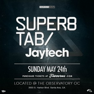 Super8 & Tab - May 24 (Observatory, Santa Ana) + Interview