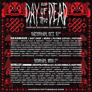 HARD Day Of The Dead - October 31 & Novemebr 1 (Fairplex, Pomona)