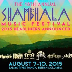 Shiba San - 2015 Shambhala Set (1 Hour Mix)