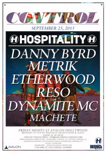 Hospitality DNB with Danny Byrd, Metrik, & More - September 25 (Avalon, Hollywood)