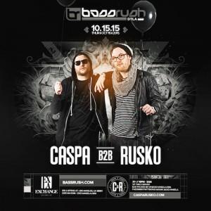 Caspa b2b Rusko - October 15 (Exchange, Los Angeles)