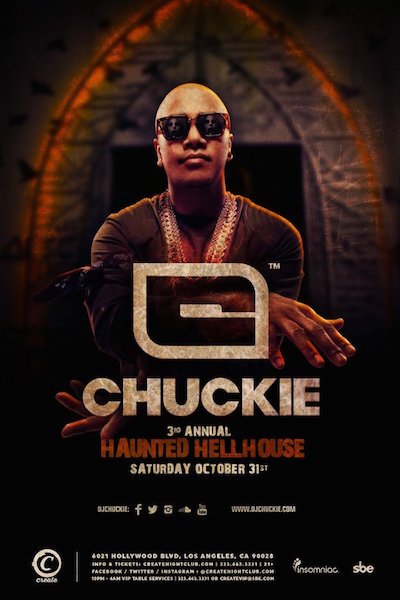 Chuckie - October 31 (Create, Los Angeles)