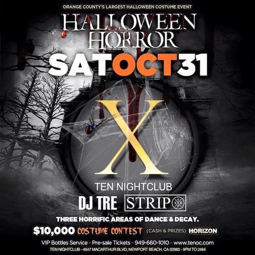 Halloween - Ten Nightclub