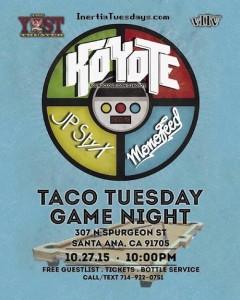 Koyote - October 27 (Yost Theater, Santa Ana)