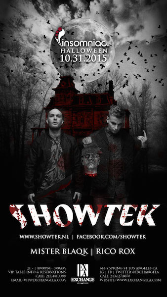 SHowtek - October 31 (Exchange, Los Angeles)