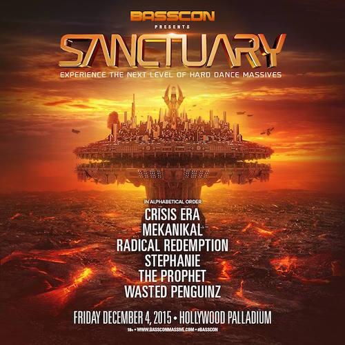 Basscon presents: Sanctuary - December 4 (Palladium, Hollywood)