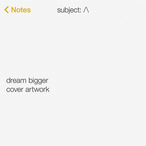 Ingrosso - Dream Bigger (Instrumental Mix)