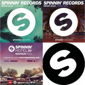Spinnin' Records Miami 2016 - Day & Night Mixes