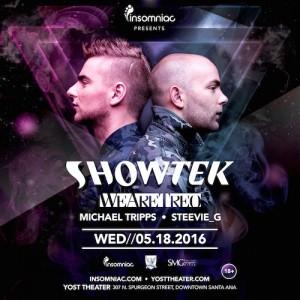 Showtek - May 18 (Yost Theater, Santa Ana)