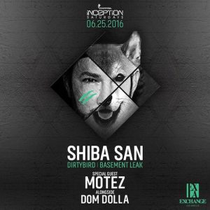 Shiba San - June 25 (Exchange, Los Angeles)