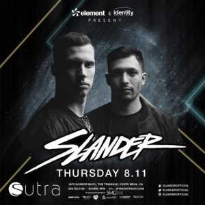 Slander - August 11 (Sutra, Costa Mesa)