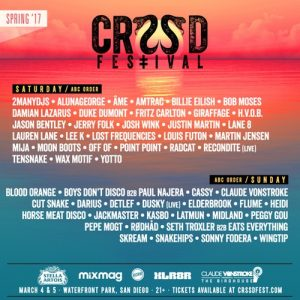CRSSD Festival - March 4 & 5 (Waterfront Park, San Diego)
