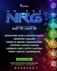 We Are NRG - May19-20 (NOS Events Center, San Bernardino)