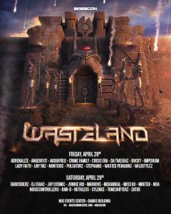 Basscon presents - Wasteland - April 28-29 (NOS Events Center, San Bernardino)