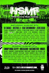 HARD Summer - August 5 & 6 (Auto Club Speedway, Fontana)