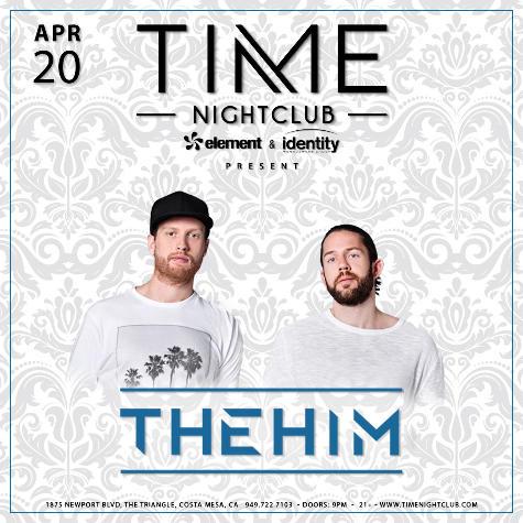 The Him - April 20 (Time Nightclub, Costa Mesa)