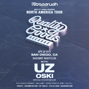 UZ and Oski - April 28 (Bassmnt, San Diego)