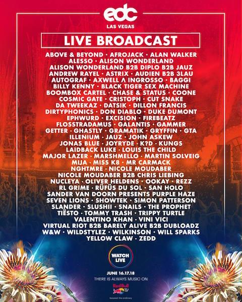 EDC Las Vegas 2017 Live Stream
